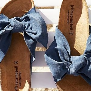Jeffrey Campbell do the twist free people sandals